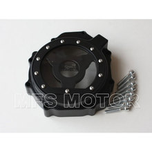 motorcycle parts Left Billet Engine Stator cover see through For Suzuki  GSXR600 750 2004 2005 GSXR1000 2003 2004 2005 Black free shipping motorcycle parts billet engine stator cover see through for suzuki gsxr 600 750 2006 2013 black left