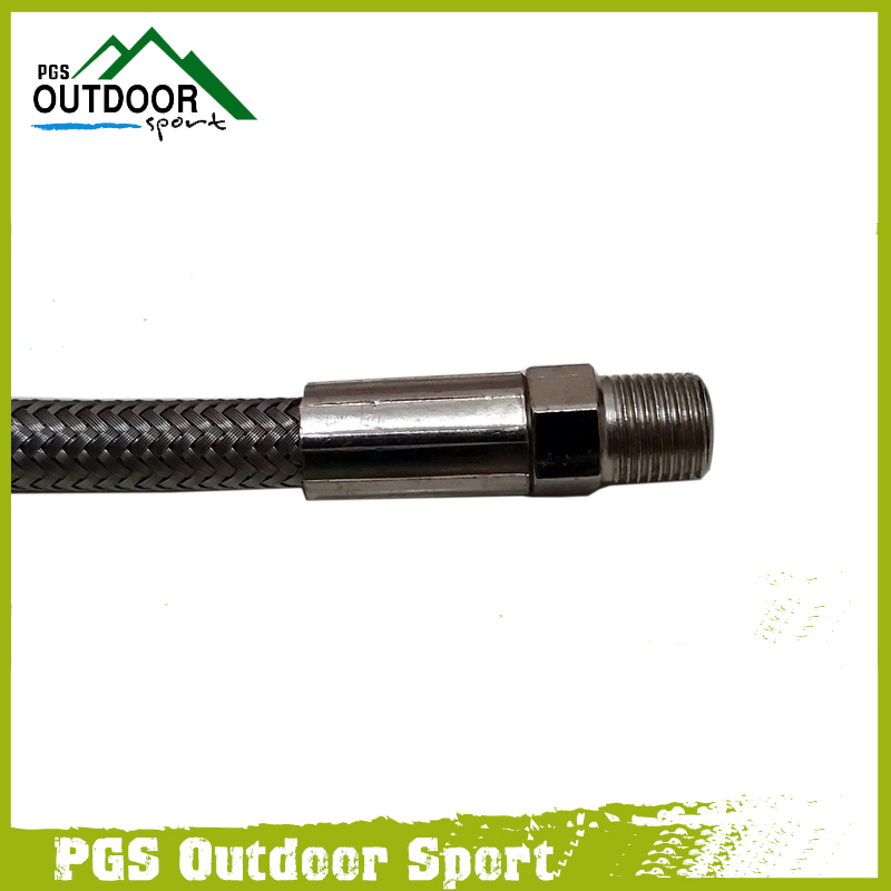"""Image 2 - Paintball Hose Stainless Steel Braided High Pressure Fill Line 10"""" 10 Incle long-in Paintball Accessories from Sports & Entertainment"""