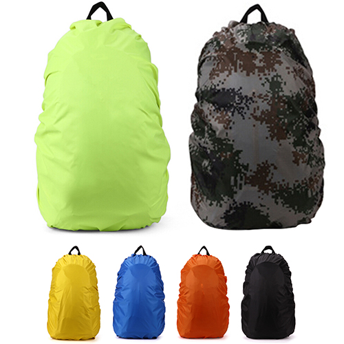 35 45L Waterproof Rainproof Rucksack Rain Cover Backpack Dust Bag for Camping Hiking Outdoor Pack Drop Shipping in Raincoats from Home Garden