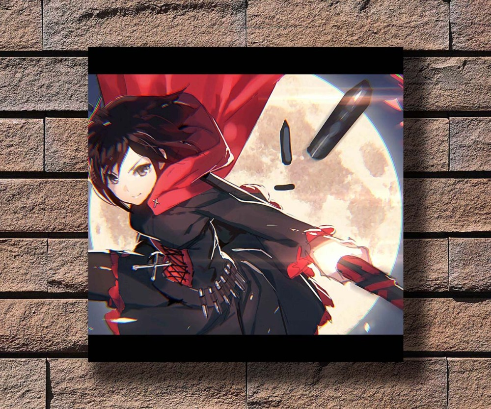 "RWBY poster wall art home decor photo print 24x24/"" inches"