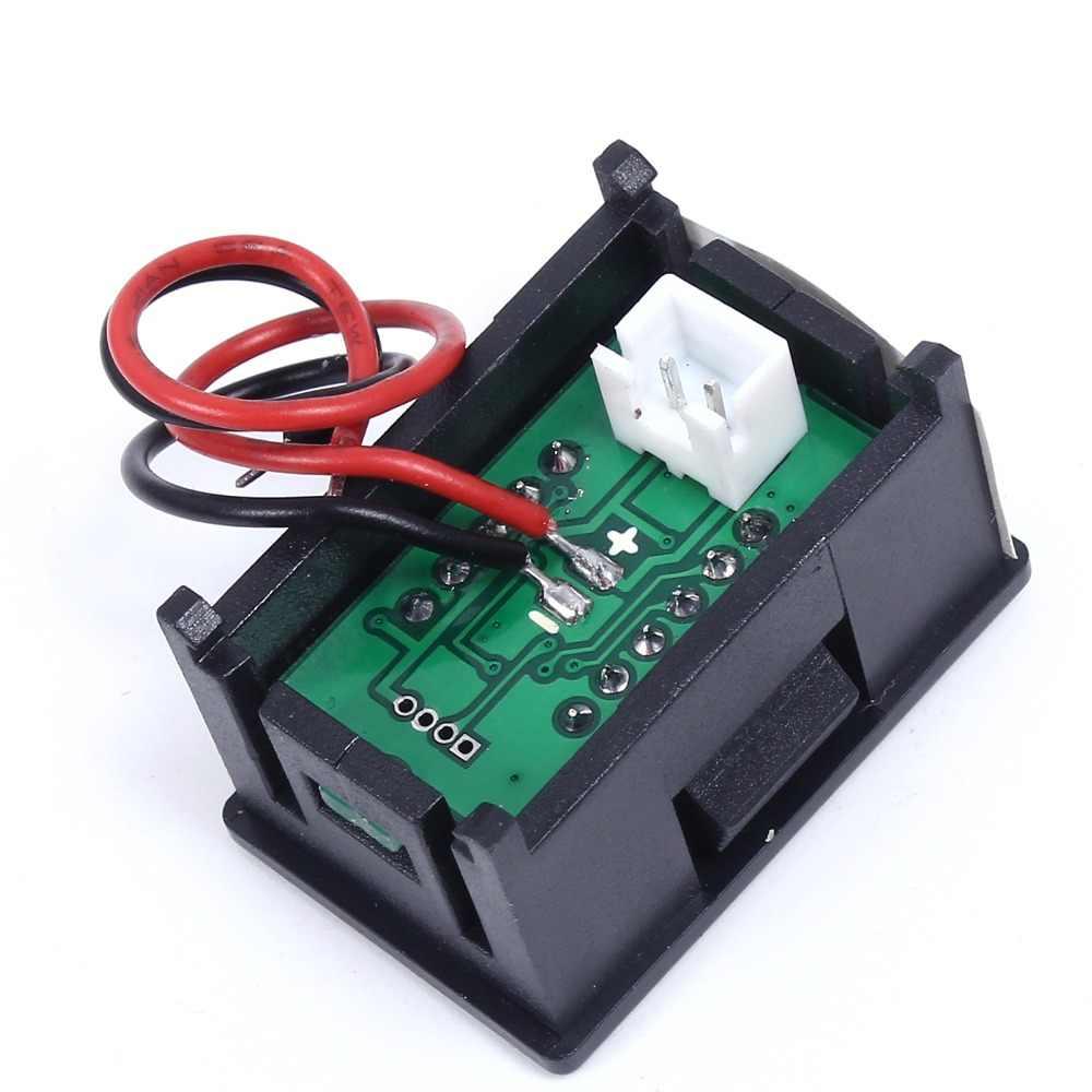 درجة الحرارة الاستشعار الأحمر البسيطة ترمومتر إلكتروني متر الكاشف الأحمر LED شاشة ديجيتال NTC المعادن للماء DC4-28V 0.36 بوصة