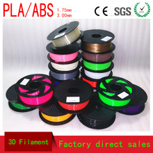 30 colours Multiple packages 3D Printing Materials 3D Pen Filament ABS/PLA 1.75mm 3D draw Plastic Rubber Consumables Material