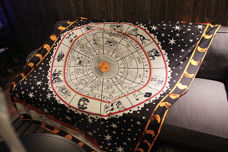 Tarot Tablecloth Aspect Astrology Constellation Board Game Mat, Sofa Cover Carpet OtsugeUranainandesu Novelty Decoration Blanket