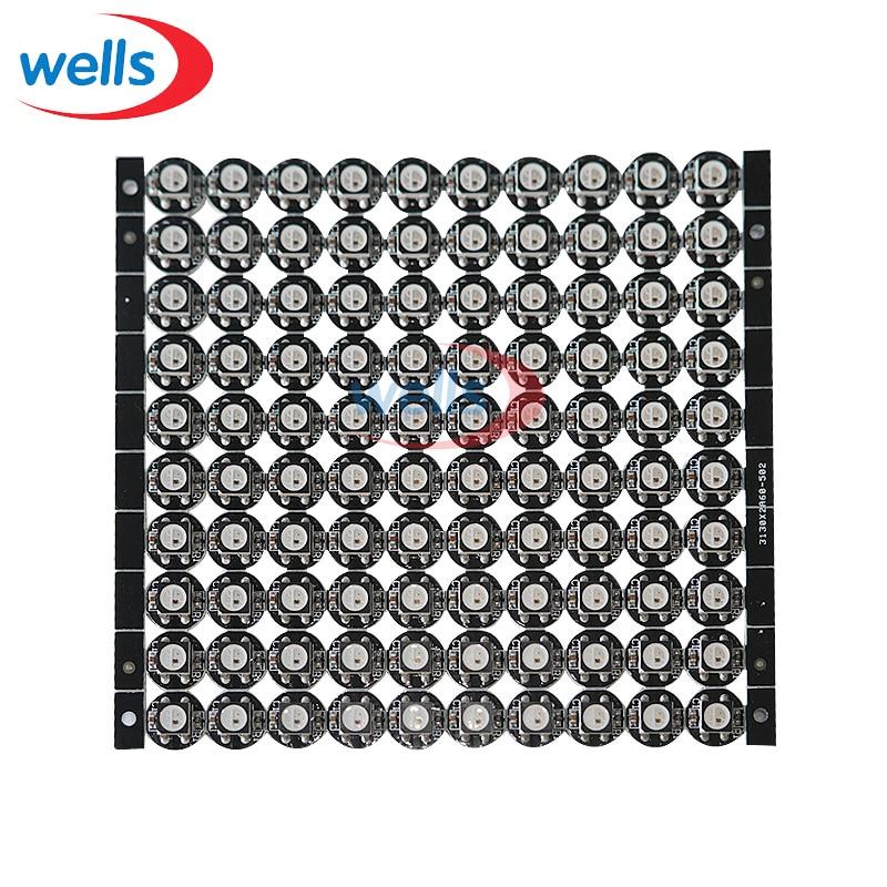 Free Shipping  WS2812B LED With Heatsink (10mm*3mm) DC5V 5050 SMD RGB WS2812 IC Chips