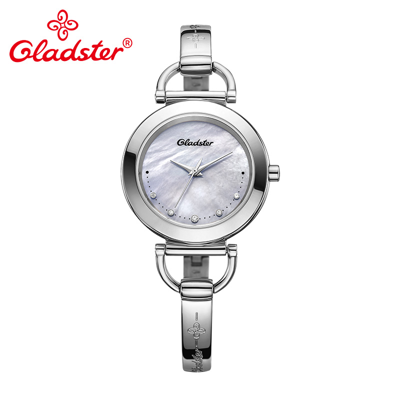 Gladster Luxury Brand Japanese CITIZEN GL30 Shell Dial Lady Quartz Watch Women Bracelet Wristwatch Sapphire Crystal Female Clock цена 2017