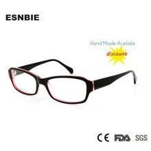 2015 Cheap Glasses Frame Women Hand Made Acetate Customized Prescription Eyeglasses oculos Square Fashion China