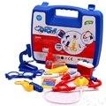 Crianças médico brinquedo conjunto kit doctor pretend play house clássico presente educacional para crianças pl076
