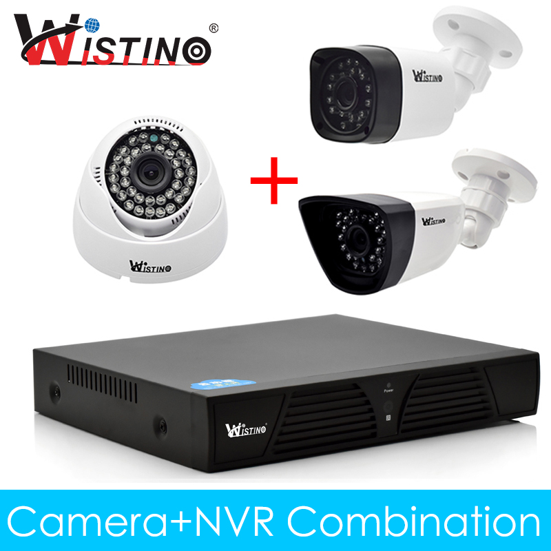 Wistino XMeye IP Camera NVR Kits CCTV Outdoor 720P 960P 1080P Surverillance Video Security System Monitor Onvif Night Vision wistino cctv bullet ip camera xmeye waterproof outdoor 720p 960p 1080p home surverillance security video monitor night vision