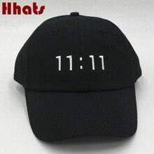 Que no chuveiro rapper preto costurado 11 11 pai strapback boné de beisebol  bordado mulheres homens ajustável golf chapéu hip ho. 815792362d3
