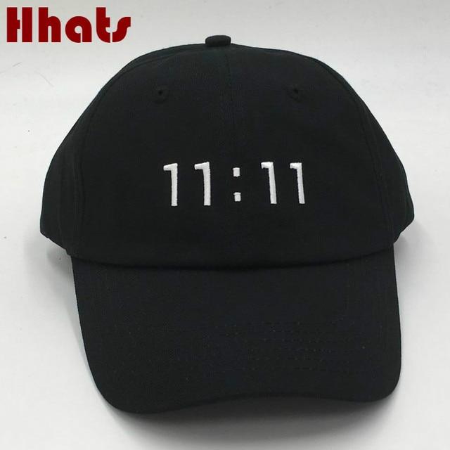 68b53c9dcd9 which in shower rapper black stitched 11 11 dad baseball cap embroidered  women men adjustable strapback golf hip hop hat bones