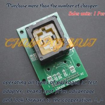 IC TEST BGA test socket eMMC 169/153 IC test socket Pitch=0.5mm Size=11.5X13mm