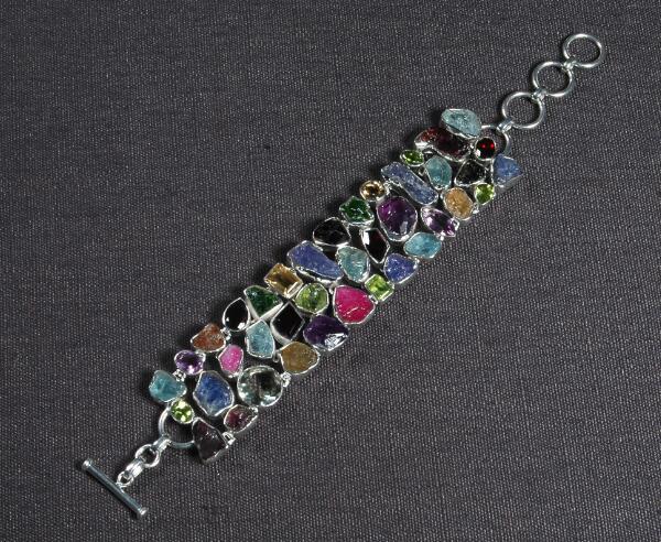 Kohinoor Bracelet on 925 Sterling Silver.