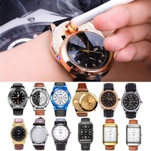 Multiple styles Military Flameless Windproof Men's Rechargeable USB Watches Casual Quartz