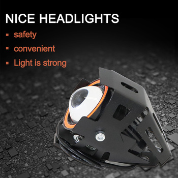 3200W LED Light Aluminum Headlight Of Electric Scooter Convenient No leakage Safety  Electric Scooter Light Long Shot Accessory
