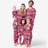 Family Matching Outfits Look Onesies Christmas Pajamas Father Mother Kid Baby Clothes Christmas Family Set Pajamas Clothing YK
