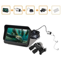 4.3 inch LCD Monitor 6 LED Night Vision Video 720P Underwater Fishing Fish Finder Ice Camera 20m Cable Visual Fish Finder