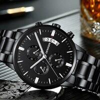 Мужские часы лучший бренд Мужские часы модные часы Relogio Masculino военные кварцевые наручные часы горячие часы мужские спортивные часы