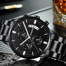 Hommes montre Top marque montre pour hommes montres de mode Relogio Masculino montres à Quartz militaire horloge chaude sport masculin
