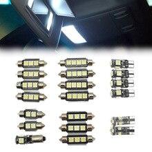 20 шт./компл. белый автомобиль светодиодный светильник внутренний светодиодный лампа для чтения подсветки перчаточного ящика комплект для VW PASSAT B5 1997-2000