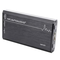 FX-AUDIO UK-01 MINI Audio External USB Sound Card Driveless Portable Headphone Amplifier Output CM6533 MAX9722