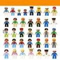 Play house Ftoys-мини мол строительный блок устанавливает коллекция подарочные игрушки семья действия Ftoys Крупные частицы игрушки куклы