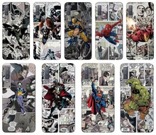 Super Hero Comics Fundas Soft TPU Phone Case For Wiko View 2 Go Max Prime Pro XL Lenny 5 4 Sunny 3 Mini Wim Lite Cover Coque