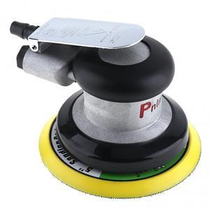 Image 1 - 5 Polegada impulso matte superfície circular pneumática lixa aleatória orbital lixadeira de ar polido máquina moagem mão ferramentas elétricas