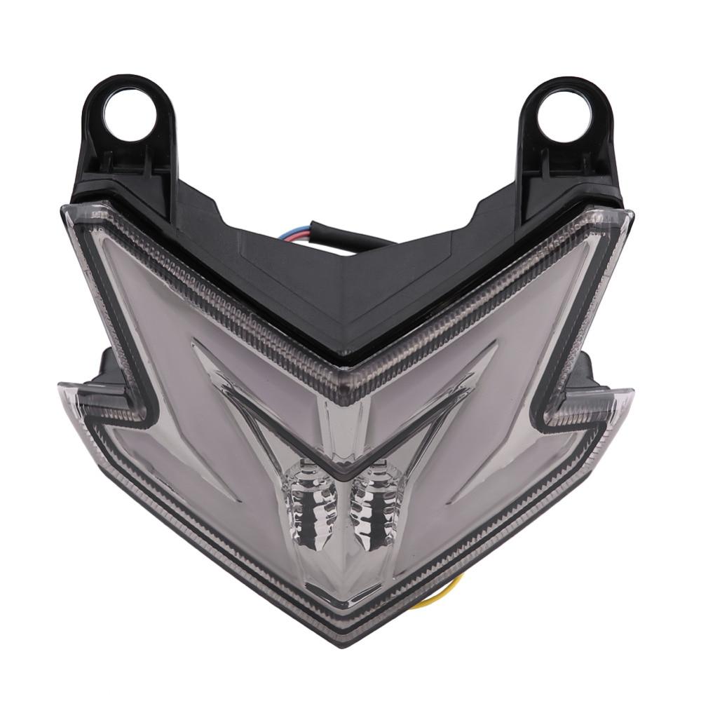Motorcycle LED Tail Rear Light Brake Lamp Waterproof Turn Signal Warning Light for Kawasaki Z800 ZX6R Z125 2013 2014 2015 2016 цена