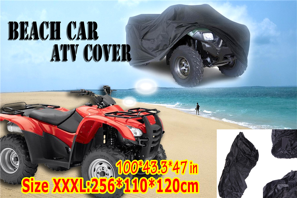 Quad Bike Cover Trike Motorfiets Cover Strand Auto Atv Cover Nieuwe 2018 Hoge Kwaliteit Universele Quad Atv Cover Water Proof Speciale Kopen