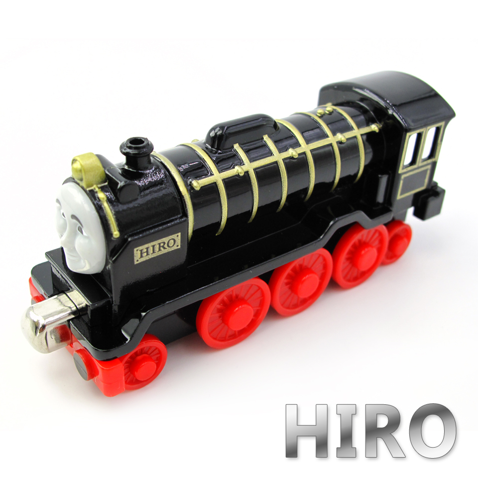Diecasts Vehicles Thomas T070D HIRO Thomas And Friends Magnetic Tomas Truck Car Locomotive Engine Railway Train Toys for Boys