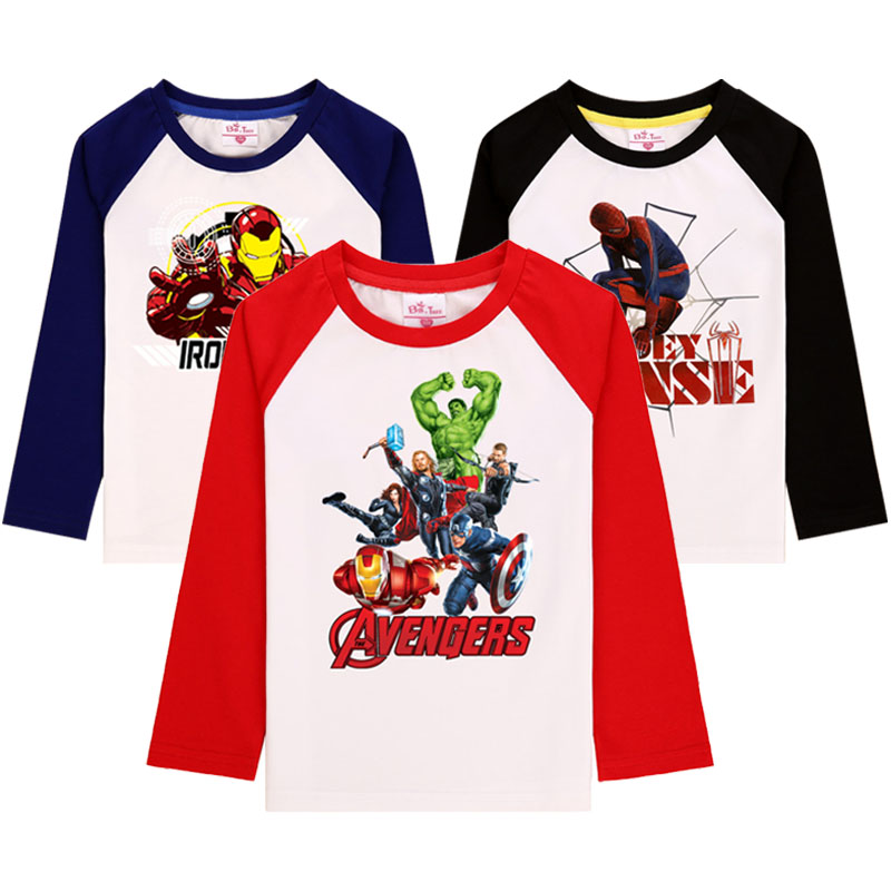Spiderman Boys Long Sleeves T Shirt