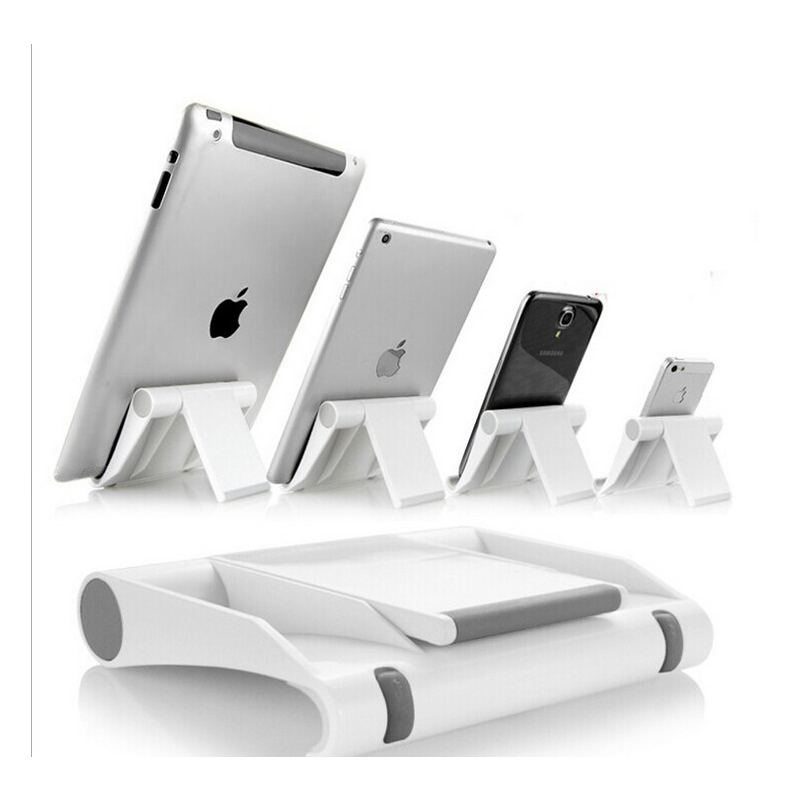Universal Desk Mobile Phone Stand Holder Cell Foldable Adjule Smartphone Tablet For Ipad Iphone 5 6s Samsung In Holders