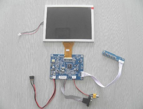at080tn52 v.1  +VGA Display screen