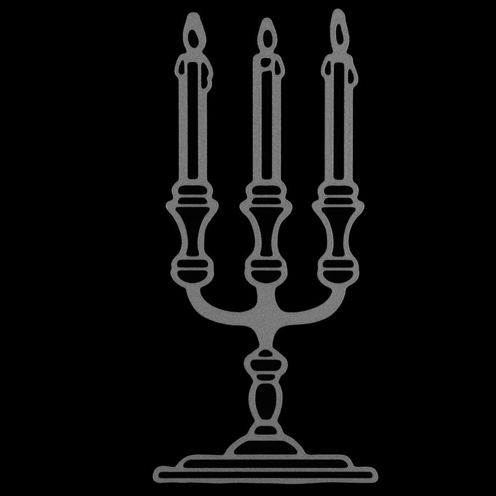 Burning Candle In Candle Stick Line Icon