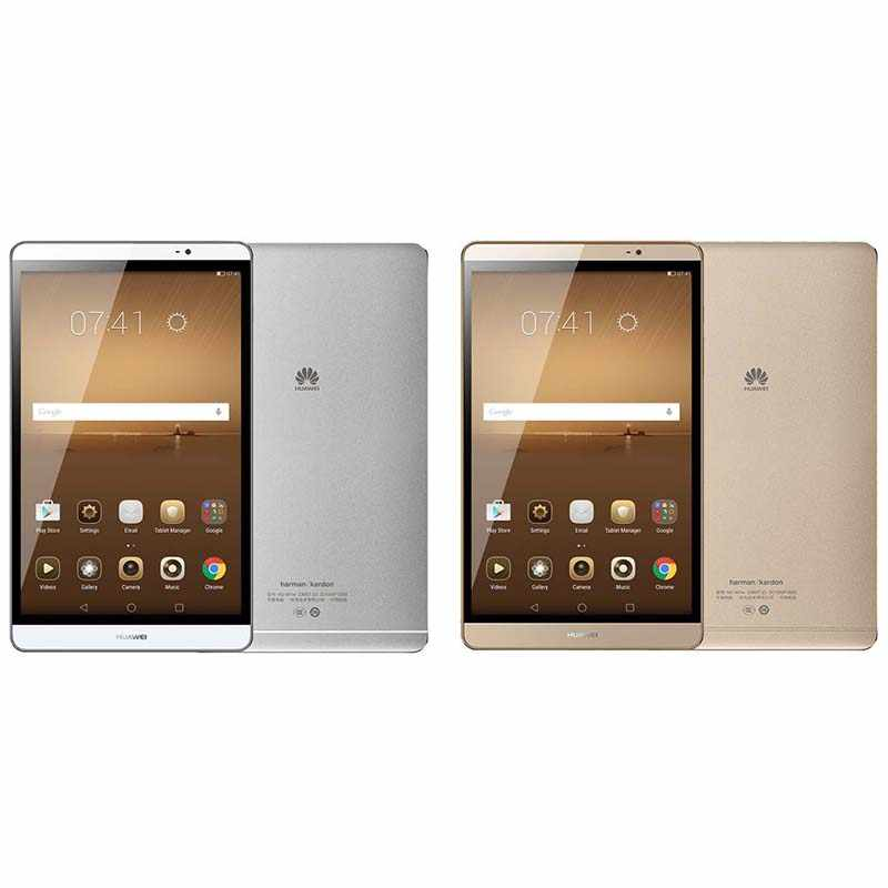 הגלובלי הקושחה HUAWEI MediaPad M2 8.0 Tablet PC 3GB זיכרון RAM 32 GB/64 GB ROM קירין 930 אוקטה core 8.0MP 1920*1200