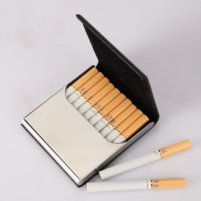 Accommodate 10 Smoking Cigarette Case Les