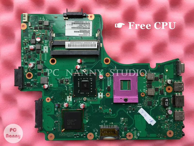 NOKOTION V000225020 6050A2355301 for Toshiba Satellite C655 Laptop Motherboard Mainboard GL40 DDR3 s478 & CPU works