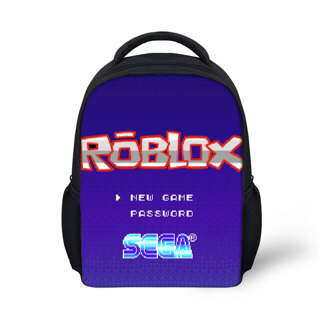 US $7 2 40% OFF|Backpack Roblox Figure School Bags travel Shoulder Bag  rugzak Girl Backpack School Book Bag school supplies Children Boys Girls-in