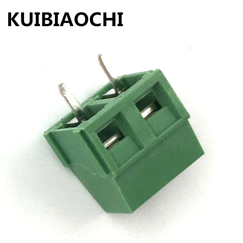 20pcs/LOT KF127 2P 5.08MM 300V 2PIN 10A 5.08mm pitch connector pcb screw terminal block connector 2pin