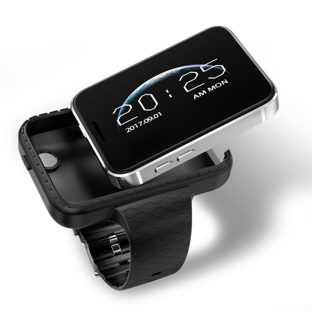 I5S Smart Mobile Watch MP3 MP4 Player Sleep Monitor Pedometer built in Camera GSM SIM mini