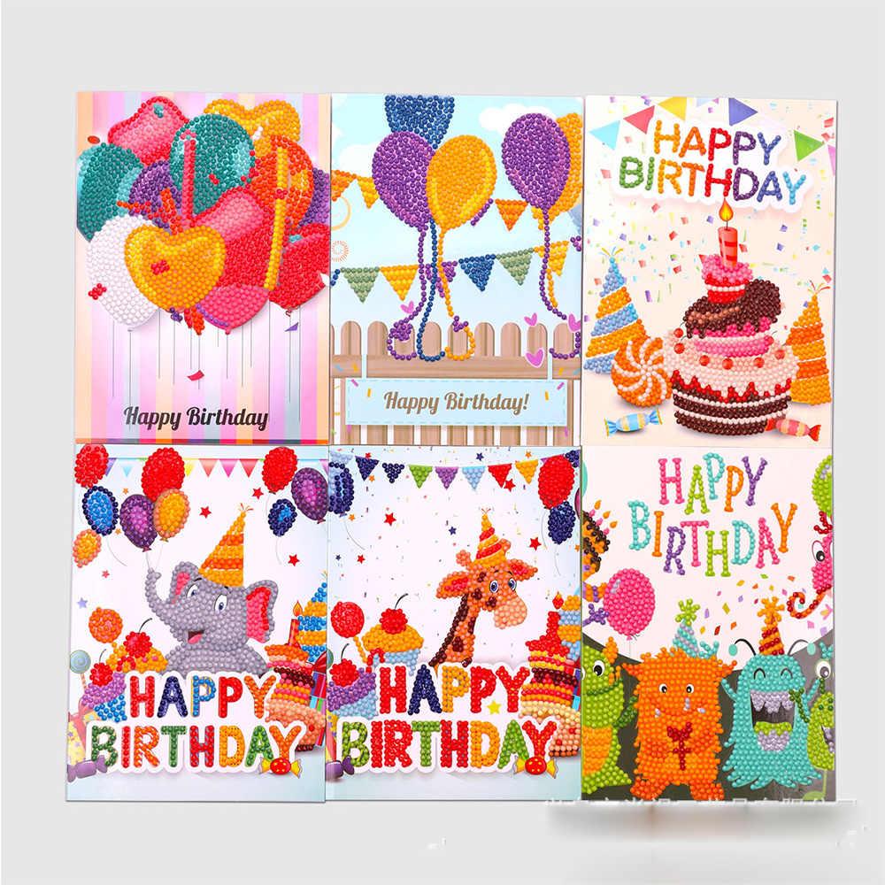 Moge Cartes Pour Peinture Diamant Carte Pour Broderie 5d Carte D Anniversaire A Faire Soi Meme Ensemble De Cartes Pour Broderie 5d Aliexpress