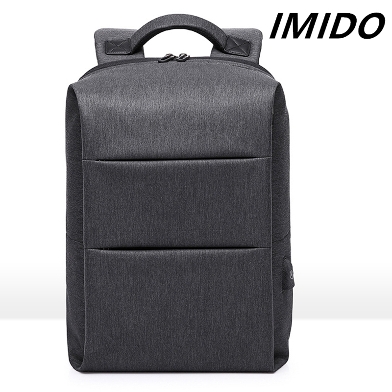 IMIDO 2019 Summer New Style Travel Computer Men Student School Bag Waterproof Charging Backpack Fashion Casual Luxury Designer