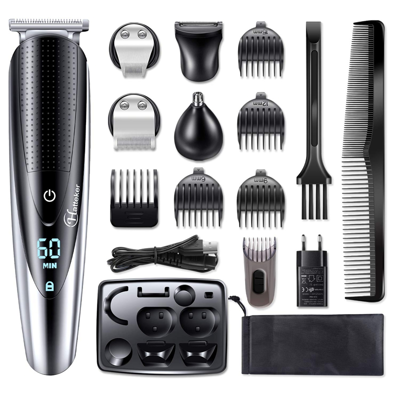 Multifunction Facial Electric Shaver For Men Body Shaver Wet Dry Shaving Machine Beard Electric Razor Rechargeable Hair Shaver
