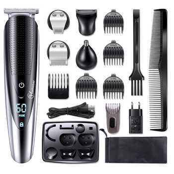 Multifunction facial electric shaver for men body shaver wet dry shaving machine beard electric razor rechargeable hair shaver - Category 🛒 Home Appliances