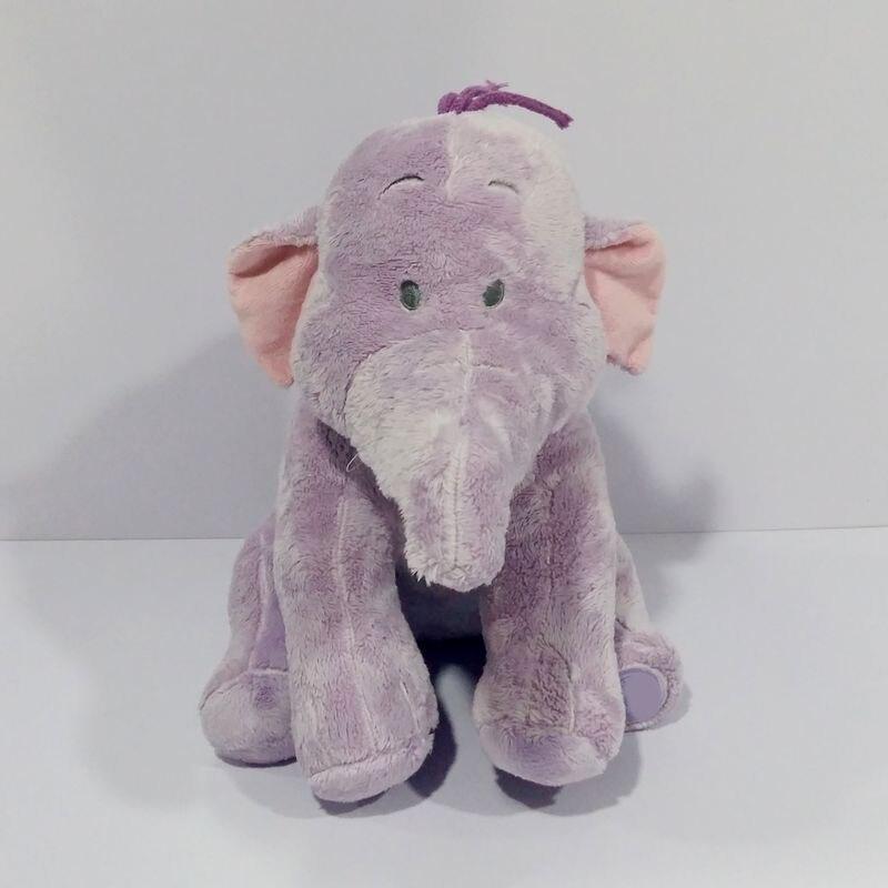 Оригинальный оказаться неоднородным фиолетовый слон Симпатичные мягкие вещи плюшевые игрушки ребенка подарок на день рождения
