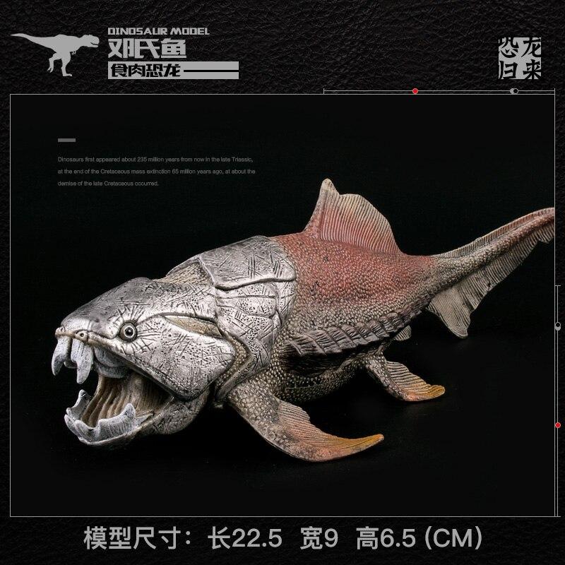 Carcasse poisson dunosaure modèle préhistorique Animal dinosaure monde