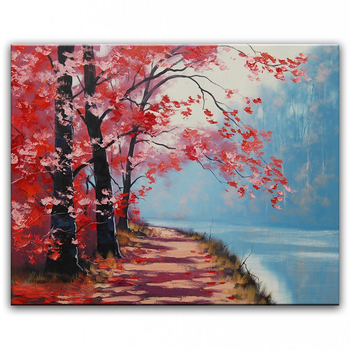 Hand painted oil painting Home decoration painting  high quality Modern art landscape oil painting   WX15042219