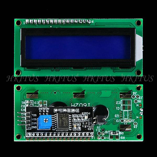 Hot 1602 16x2 HD44780 Character 1602 LCD Module Display 5V Serial IIC/I2C/TWI For Arduino UNO R3 MEGA2560 Nano Free Shipping