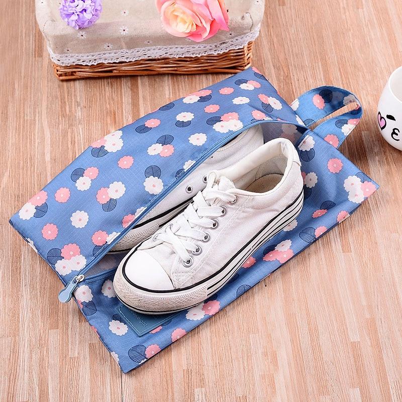 GQIYIBBEI Oksford Rroba Portable Transporti Qese këpucësh Qëllimi - Magazinimi dhe organizimi në shtëpi - Foto 3