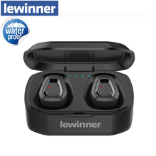 Lewinner new Bluetooth 5.0 Hifi Earphone with dual Mic, A7 TWS Wireless Earbuds Stereo Microphone for Phone With Charger Box bluetooth touch control hifi earphone with mic rockspace eb30 tws wireless earbuds stereo microphone for phone with charger box